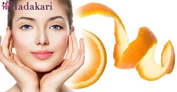 Beauty miracles with orange peel