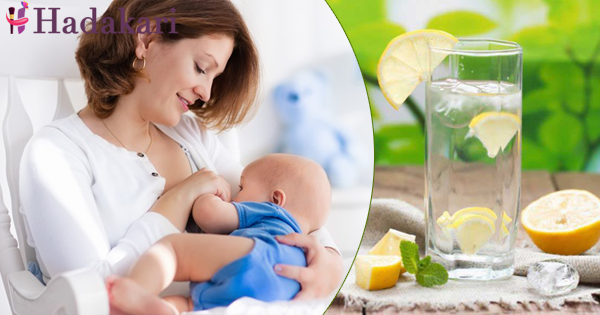 Benefits of lemon for feeding mothers