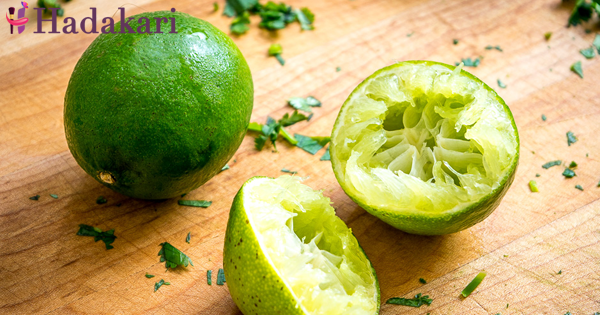 Treatments for the whole body from lime peel