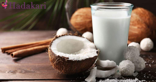Coconut milk to control high blood pressure and cholesterol