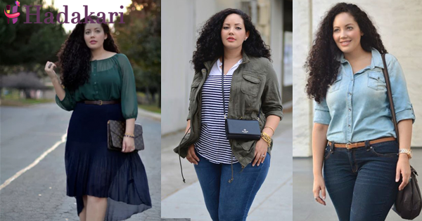 Fashion for a short plus size woman