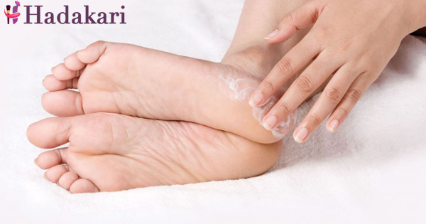 Treat your cracked heels at home