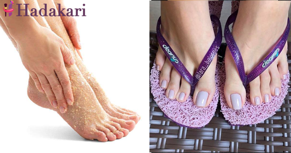 Heal your feet while making them pretty