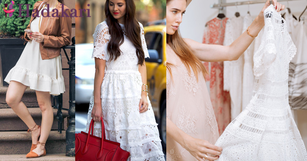 Things to keep in mind when you wear white dresses